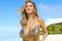 Güzel model Kate Upton yeniden kamera karşısında!