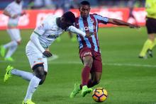 Trabzonspor-Alanyaspor maçından kareler