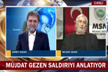 Mujdat Gezen canlı yayında Erdoğan'a laf attı