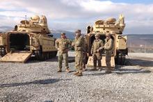 ABD askerleri Bulgaristan'a ulaştı