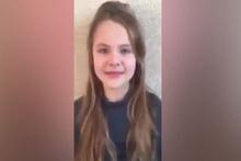 Kuran'dan sureler okuyan Ukraynalı küçük kıza ilgi