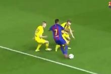 Barcelona'nın genç yeteneği Jordi Mboula izleyenleri mest etti
