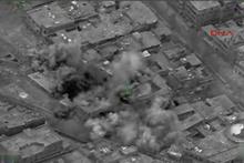 Fırat Kalkanı Harekatı'nda IŞİD hedeflerinin vurulma anı
