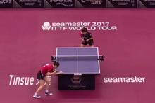 Masa tenisinde beyin yakan ralli