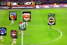 Gaziantepspor-Fenerbahçe maçının capsleri sosyal medyayı salladı