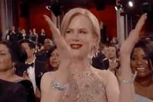 Nicole Kidman'ın Oscar törenindeki tuhaf alkış şekli