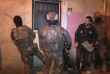 Şişli'de 40 adrese uyuşturucu baskını