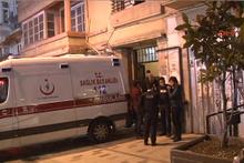 Taksim'de apartman boşluğuna düşen otel çalışanı öldü