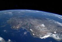 Türkiye'ye bir de buradan bakın uzaydan böyle görüntülendi
