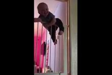 Komando bebeği görenler gözlerine inanamıyor!