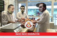 Başakşehir Galatasaray maçının capsleri olay oldu