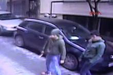 İki kişinin yaralandığı kavga kamerada