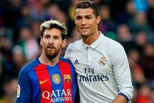 Messi golü Ronaldo sevinci!