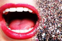 Ağzınızın içinde dünya nüfusu yaşıyor!