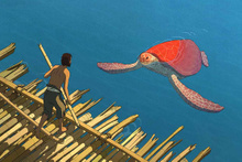 Kırmızı Kaplumbağa filmi fragmanı - Sinemalarda bu hafta