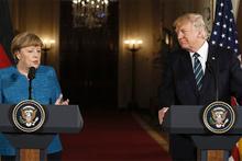 Trump'tan dinleme yanıtı: 'Merkel ile ortak noktamız...'