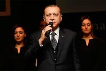 Cumhurbaşkanı Erdoğan ve eşi 'Bitmeyen Ağıt Çanakkale' programında