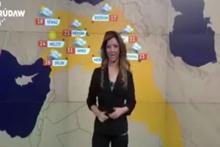 Hava durumu sunulan haritada büyük skandal! Türk toprakları..