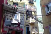 Beyoğlu Tarlabaşı'nda yangın faciası