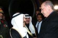 Cumhurbaşkanı Erdoğan, Kuveyt Emiri El Sabah'ı karşıladı