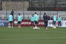 A Milli Futbol Takımı Antalya'da top başı yaptı