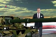TGRT stüdyosunda tanklar Türk televizyon tarihinde bir ilk