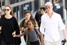 Jolie ve Brad Pitt ayrılık sonrası ilk kez görüştü