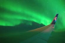 Yolcu uçağıyla kutuplara ilk Güney Işıkları seferi yapıldı!