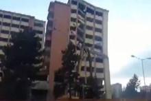 Sivaslı vatandaşın anlatımıyla dev binanın yıkım anı