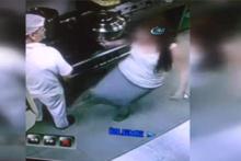 İş yerindeki tacizin görüntüleri! 2 yıl hapis verildi