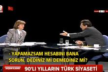 Koalisyon dönemi Tansu Çiller - Mesut Yılmaz kavgası