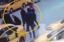 İstanbul'daki taksici skandalının görüntüleri ortaya çıktı