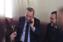 Cumhurbaşkanı Erdoğan'la vatandaşın güldüren çay sohbeti