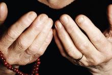 Cuma günü duası Hz. Muhammed dua ederken...