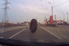Ölüm kadın sürücüyü teğet geçti!