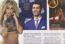 Ronaldo'nun aşk mesajları ortaya döküldü