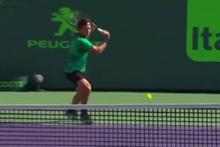 Roger Federer'den Panenka vuruşu