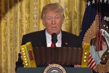 Sosyal medya Trump'ın bu videosunu konuşuyor