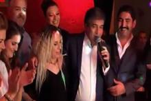 İbrahim Erkal eşi Filiz Akgün ile görüntüleri