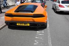 Aracını yanlış yere park etti karşılaştığı manzara ise...