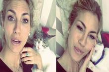 Çağla Şıkel'in kendini kediye zorla sevdirme anları
