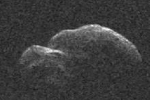 NASA dünyaya en yakın geçen asteroidi görüntüledi
