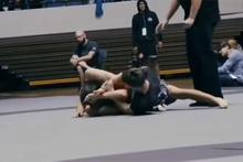 Jiu Jitsu maçında sporcu rakibinin kolunu kırdı