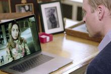 Lady Gaga ve Prens William'ın facetime görüşmesi