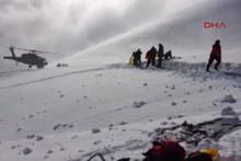 Tunceli'de düşen helikopterin enkazından yeni görüntüler