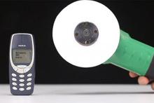 Nokia 3310 kağıt testere ile kesilirse...