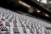 Vodafone Arena'da Beşiktaş-Lyon maçı heyecanı