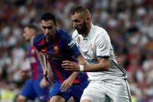 Real Madrid Barcelona maçından kareler