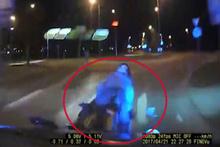 Polis motosikletlileri böyle yakaladı