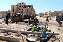 Suriye'de Han Şeyhun'a hava saldırısı